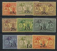 Nouvelles Hébrides - 1920 - N°Yv. 60 à 68 - 9 Valeurs - Neuf GC ** / MNH / Postfrisch - Unused Stamps