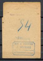 Carte De Charbon - Chauffage - LE BOURGET SEINE - 9 Mai 1946 - Bois & Charbons - (2) - Documentos Históricos