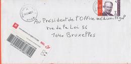BELGIO - BELGIE - BELGIQUE - 2003 - 4,21 A Prior - Registered - Viaggiata Da Bütgenbach Per Bruxelles - Briefe U. Dokumente
