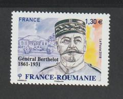 TIMBRE - 2018 - N° 5288/89 - Personnalité , Henri Berthelot , Général Français -   -   Neufs Sans Charnière - - Unused Stamps