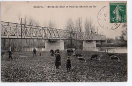 (36) 578, Chabris, Corset, Bord Du Cher Et Pont De Chemin De Fer - Altri Comuni