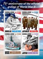 Sierra Leone 2020    Ending Of World War II ,Douglas MacArthur   S202009 - Sierra Leone (1961-...)