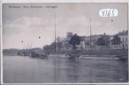 POLOGNE- VLOCLAWEK- ULICA BULWAROWA- UFERSTRASSE - Polonia