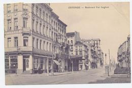Oostende / Ostende : Boulevard Van Iseghem (Hotel Alberta) - Oostende