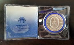 Thailand Coin Silver 800 Baht 2007 84th Birthday Galyani Vadhana Y466+ Certification - Thailand