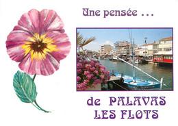 CPSM Une Pensée De Palavas Les Flots     L39 - Palavas Les Flots