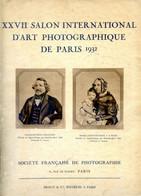 XXVII Salon International D'art Photographique De Paris 932 - 48 Photos Reproduites Sur Beau Papier Sépia - Andere