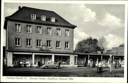 CPA Castrop Rauxel Im Ruhrgebiet, Ickerner Straße, Kaufhaus Hövener Bohe, VW Käfer - Altri