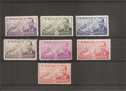 Espagne ( 7 Valeurs  XXX -MNH De 1941 à 1948 à Dentelure 10) - Neufs