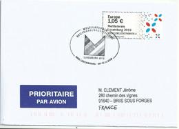 Vignette De Distributeur - ATM - IAR - Multilaterale Luxembourg 2019 - Postage Labels