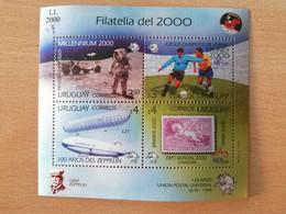 203 Lune Moon Mond, Football, JO Sydney, THAILAND, WIPA, ESPANA, EXPO 2000 - Uruguay
