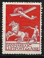 Danemark  Poste  Aérienne  N° 3  Neuf *    B/TB       Le Moins Cher Du Site      Soldé à Moins De  15 %   ! ! !   , - Nuevos