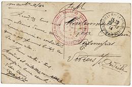BOUCHES DU RHONE CP 1914 MARSEILLE FM HOPITAL AMBULANCE ANNEXE 7 RUE D'HOZIER - 1877-1920: Semi-moderne Periode