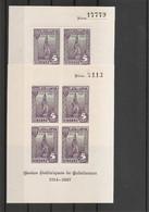 Espagne ( 2 BF XXX -MNH- - 1 Percé En Ligne Et 1 Non Dentelé De 1937 à Voir) - Unclassified