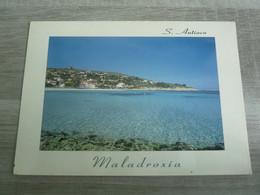 S. ANTIOCO - SPIAGGIA DI MALADROXIA - EDITIONS VERBA - ANNEE 1989 - - Carbonia