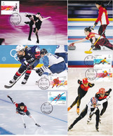 China 2020-25 Beijing 2022 Winter Olympic Game Ice-sports 5v LOCAL MC - Winter 2022: Peking