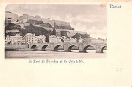 Namur - Le Pont Des Jambes Et La Citadelle - Namur