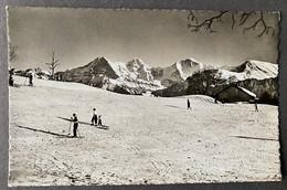 Beatenberg Skifelder/ Skifahrer - BE Berne