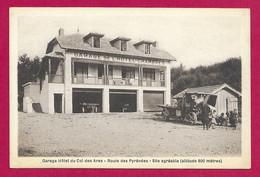 CPA Haute Garonne - Col Des Ares - Garage Hôtel Du Col Des Ares - Zonder Classificatie