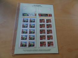 Schweiz Michel 2516/17 Business Bogen Gestempelt Pro Juventute (16007) - Usados