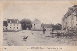 CREUSE JARNAGE PLACE DU CHAMP DE FOIRE - Other Municipalities