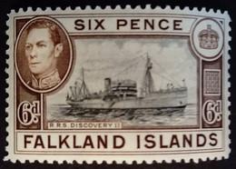Falkland 1937 Bateau Boat Yvert 81 ** MNH - Falkland Islands