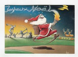 C.P °_ Humour-Joyeux Noël Olympique ° NEUVE - Humor