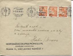 Böhmen Und Mähren Woche Des Deutschen Buches Maschinenwerbestempel Prag25,28.10.40 - Storia Postale