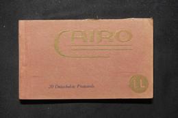 EGYPTE - Carnet De Cartes Postale De Le Caire - L 78434 - El Cairo