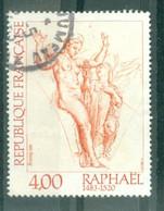 """FRANCE - N° 2263 Oblitéré - """"Création Philatélique.""""Vénus Et Psyché"""", Oeuvre De Raphaël. - Gebruikt"""