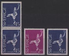 HAND 7 - SUEDE N° 554/55 + Paire Vert. Ce Carnet Neufs** Handball - Unused Stamps