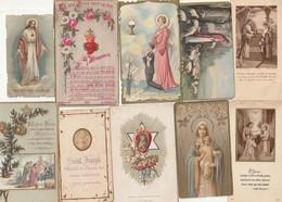 Lot De 100 Images Pieuses Lot No 3 - Devotion Images