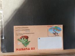 AEROGRAMME LOT 444:   AEROGRAMME CUBA XX - Cartas