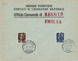 Busta - Repubblica Sociale - Comitato Di Liberazione Nazionale - Nationales Befreiungskomitee