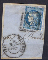 FRANCE ( OBLITERATION LOSANGE ) : GC  359 Bayonne  Basses-Pyrénées  COTE  1.00 , A  SAISIR . 20/11 - 1849-1876: Période Classique