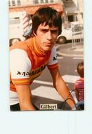 Jean Luc GILBERT . 2 Scans. Lire Descriptif. Cyclisme. A J Montmoreau - Cycling