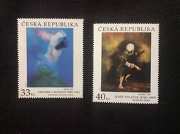 2020 Série 2 Timbres ** Art Peinture De Musatov «le Saut (1931)» Et De Vylet'al «à Tâtons 1985» - Ungebraucht