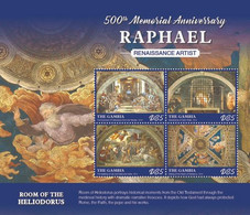 2020-08- GAMBIA-  RAPHAEL        4V      MNH** - Autres