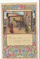 Italie - Firence -  Trovai Amor Nel Mezzo Bella Via  : Achat Immédiat - Firenze (Florence)
