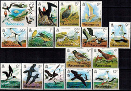 MDB-BK2-372 MINT ¤ ASCENSION ISL. 1976 16w Uit Serie ¤  ANIMALS - OISEAUX - BIRDS - PAJAROS - VOGELS - VÖGEL - - Marine Web-footed Birds