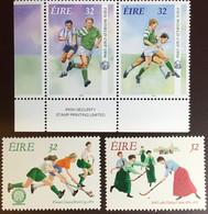Ireland 1994 Sporting Anniversaries Rugby Hockey MNH - Ungebraucht