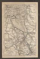 CARTE PLAN 1923 - RIVIERE De MORLAIX - CARENTEC - LOCQUÉNOLÉ - PLOUJEAN - HENVIC - BRÉVENTEC - Carte Topografiche