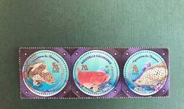 NOUVELLE CALEDONIE 2003 3 V Neuf ** YT 890 891 892 FACIALE 1,78 € Poisson Fish Mérou NEW CALEDONIA - Nuevos