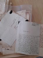 Lot De Lettre Avec Ou Sans (marque Postale Cachet Cire) à Trier 1810 à 1837 - 1801-1848: Precursors XIX