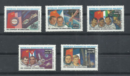 MADAGASCAR  YVERT  758/62  MNH  ** - Madagascar (1960-...)