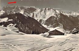 SUISSE Schweiz VS Sur Les Hauteurs De VERBIER Vue Sur Trient Catogne Et Le Buet - VS Wallis