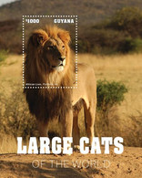 2020-08- GUYANA-   FELINS LARGE CATS          1V      MNH** - Félins