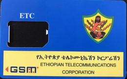 ETHIOPIE  -  GSM  - Ethiopian Telecommunications Corporation  -  Coque Vide (sans Puce) - Ethiopia