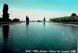 TIVOLI : Villa Adriana - Piscina Del Cosiddetto Pecile - Photo Véritable - Tivoli