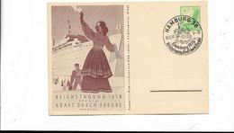 Sammlerkarte Hamburg 1938 - Cartas